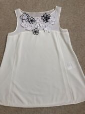 Marccain Ladies Top Size N1 10-12 Cotton