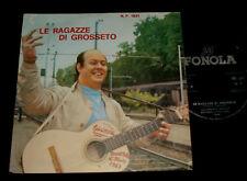FRANCO TRINCALE   P/S 45 - LE RAGAZZE DI GROSSETO    -  ITALIAN  1960s