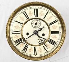 2 weight Vienna regulator clock movement & fancy dial @ 1890 Original Germania