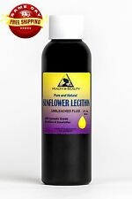 Lecithin Sunflower Unbleached Fluid Liquid by H&B Oils Center Emulsifier 2 Oz