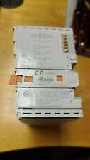 BECKHOFF EL1008 8-channel digital input terminal module 24V DC, 3 ms