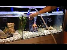 NEW! GRAVEL VACUUM CLEANER Separate & Remove Debris AQUARIUM FISH TANK ACCESSORY
