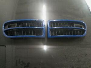 2000 -2002 Audi B5 S4 Bumper Grills OEM Nogaro