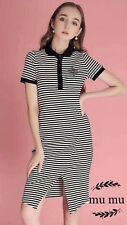 Fashion Women Dress Short Sleeve Striped