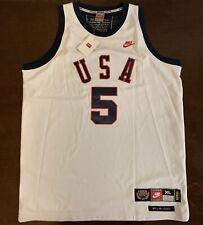 8778bc35f82 Rare Vintage Nike 1964 Summer Olympics USA Legends Bill Bradley Jersey