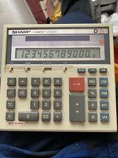 Vintage Sharp Compet CS-2125 Solar Cell Calculator