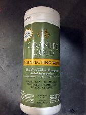 GRANITE GOLD 35 DISINFECTING WIPES STONE COUNTER TOPS KITCHEN BATH HOME OFFICE