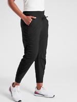 ATHLETA Attitude Lined Pant 4 S SMALL Black Warm Winter Pants