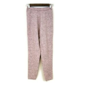 Intimately Free People Gray Pink Heathered Leggings Size M Waffle Thermal