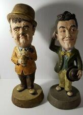 Vintage 1972 Stan Laurel & Oliver Hardy Tuscany Numbered statue Comic Figurine.
