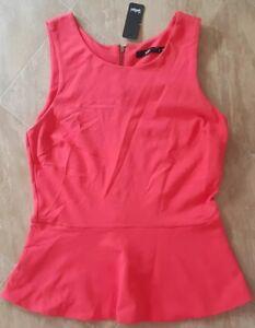 BNWT Sportsgirl Peplum top!! Size M!! Rrp $69.95!!