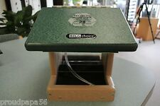 Birds Choice - Seed Bird Feeder / Green Roof / 1-1/2 Qt /2-Sided Hopper w/ Cable