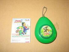 The Legends Of Zelda Sound Drops musical Keychain nintendo 2007 rare (Green)