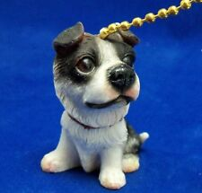 Irresistable Border Collie Puppy Dog Fan Pull / Ceiling Fan Pull New