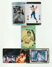 (5) Bruce Lee Rare Phone Cards