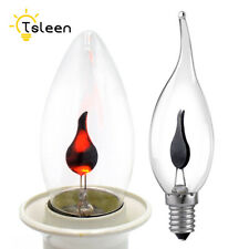 Retro LED Filament Lamp Dynamic Fire Flame Simulation Lighting Edison Bulbs 65A