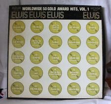 """Elvis """"WorldWide 50 Gold Award Hits Vol 1"""" 1st Pressing Box Set LPM-6401 L@@K"""