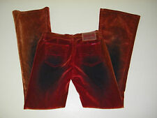 Jeans 70's vintage inspired Zana Di Women's Stetchable velvety Junior size 1
