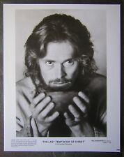 """The Last Temptation Of Christ"" - 1988 B&W Glossy Photo of Willem DaFoe as Jesus"