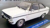 Sunstar 1/18 scale Diecast 4621 - 1975 Ford Escort Ghia MK2 - Diamond White