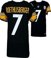 Ben Roethlisberger Pittsburgh Steelers Autographed Nike Black Elite Jersey
