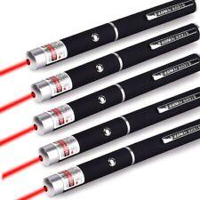 5Pcs 650nm Long Range Aaa Red Laser Pointer Pen Visible Beam Lazer Cat Dog Toy