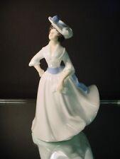 "Royal Doulton Hand Painted ""Margaret"" HN 2397 Bone China Woman Figurine England"