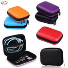 Portable Earphone Data USB Cable Travel Case Organizer Pouch Storage Bag Hot