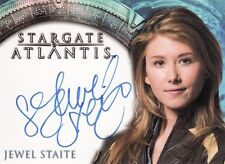 Stargate Atlantis Season 3 & 4 Jewel Staite as Dr. Jennifer Keller Auto Card
