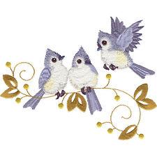 OESD Embroidery Machine Designs CD WINTER BIRDS #12208