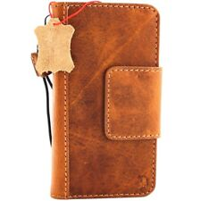 Genuine Leather Case for Apple iPhone X Wallet Handmade Cover Magnetic Holder