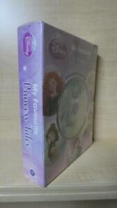 NEW - MY FAVOURITE DISNEY TALES: READ & LISTEN 5 BOOKS CD BRAVE, MULAN, TANGLED+