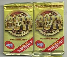 3 X 2011 SELECT CHAMPIONS  AFL CARD UNOPENED PACKETS  SIGNATURE ??