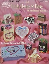 Little Boxes & Bags in Perforated Plastic Cross Stitch Booklet