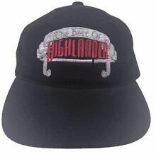 The Best of Highlander Cult Movie Black Slideback Cap Hat