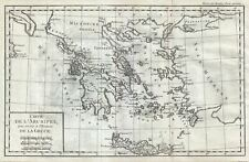 1782 Delisle de Sales Map of Greece and the Greek Archipelago