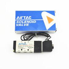 """4V110-06 AC110V 5 Way 2 Position 1/8"""" Pneumatic Solenoid Valve"""