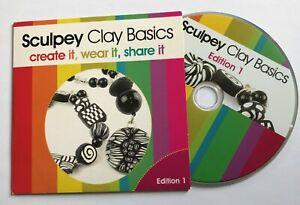 Jewellery Maker SCULPEY CLAY BASICS DVD Edition 1