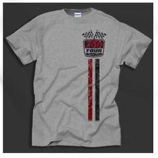 Magliette da uomo grigie Gildan misto cotone