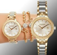 Versus Versace Damen Uhr VSP1T0819 Claremont  zweifarbig neu
