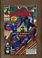 B39 1991 Amazing Spider-Man #353 Signed by Mark Bagley w/ CoA Round Robin Part 1