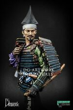 DG Artwork Oda Nobunaga Lord of Owari Samurai 16th C. 1/9th Bust Unpainted kit
