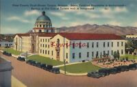 Postcard Pima County Court House Tucson Arizona Santa Catalina Mtns AZ