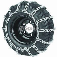Stens 180-376  4 Link Tire Chain 23 X 10.50 X 12 Snow Mud Tractor ATV (1) Pair