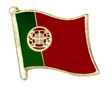Portugal Flag Pin Lapel Badge Portuguese High Quality Gloss Enamel