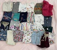 Lot Of Kids Clothes 24 Pieces Boys/Girls 2-4 Year New/Use Gymboree Zara Disney