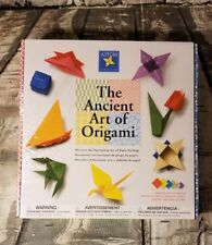 The Ancient Art of Origami Japanese Paper Crafting with Instructions 2011 Nib