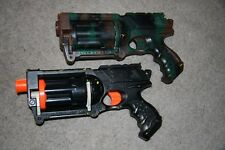 Nerf N-Strike Maverick Painted Custom Camo Tactical COSPLAY Paint dart gun LOT 2