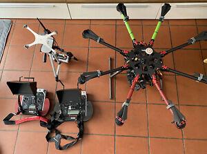 DJI  S1000+ Profi Oktokopter-Drohne mit ZENMUSE Z15 GH4 Gimbal +  WooKong-V2
