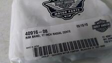 "NEW MICHELIN 41906-08 Harley RIM BAND STRIP 17"" RADIAL CENTER CVO SCREAMIN EAGLE"